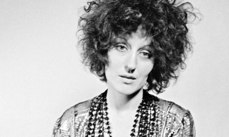 Germaine Greer in a photoshoot for the satirical underground magazine Oz, in 1969.