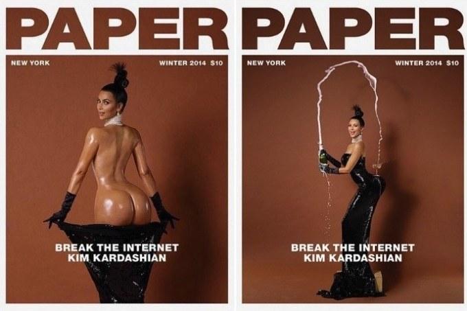kim kardashian break the internet shoot