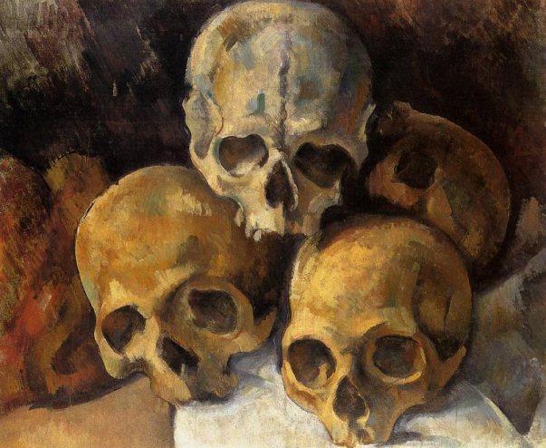 pyramid-of-skulls-paul-cezanne-1901